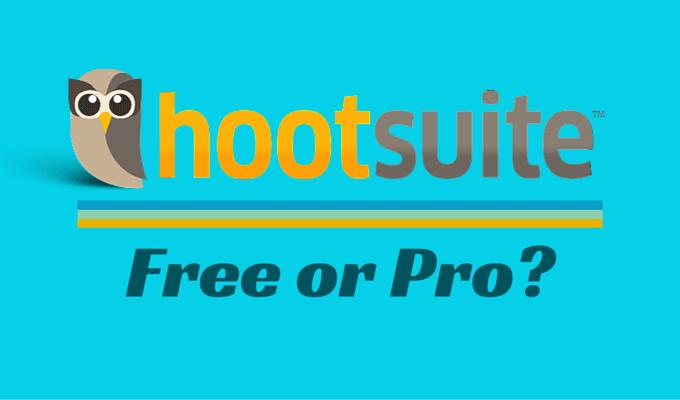 Hootsuite Free vs Pro