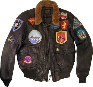 Write blog about Top Gun jacket