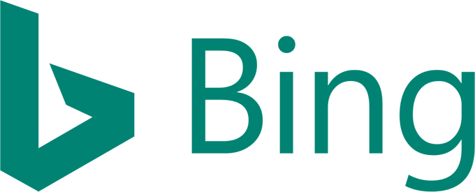 Bing Webmaster search engine submission Bing Logo