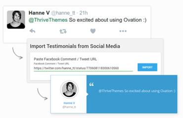 Thrive Ovation Social Media Integration
