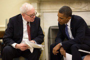 Warren Buffet and President Obama