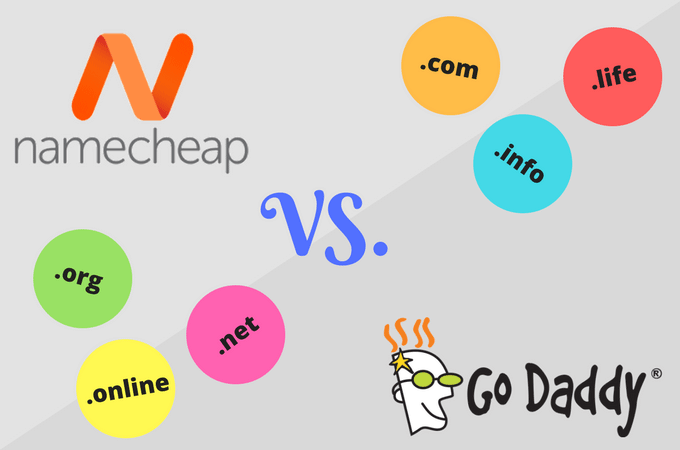 Namecheap vs GoDaddy, Which Domain Service?