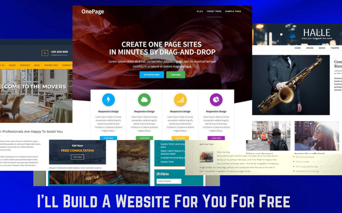 I'll Build A Website For You For Free