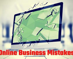 Top online business mistakes to avoid