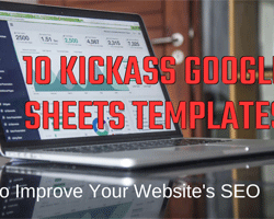Google Sheets Templates to improve your websites SEO feature