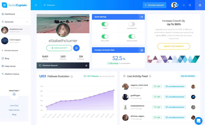 SocialCaptain Review