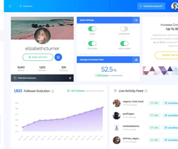 SocialCaptain to grow your Instagram following