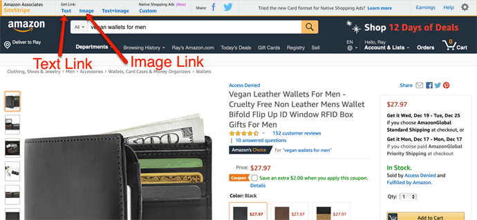 Vegan Wallet Amazon