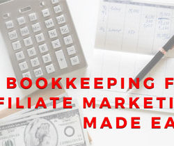 Bookkeeping for affiliates