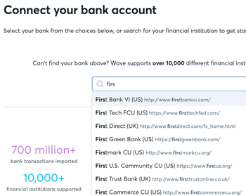 Connect Your Bank