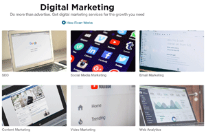 Fiverr Digital Marketing