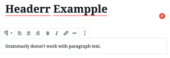 Grammarly WordPress