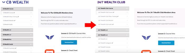 CB Wealth - 24/7 Wealth Club