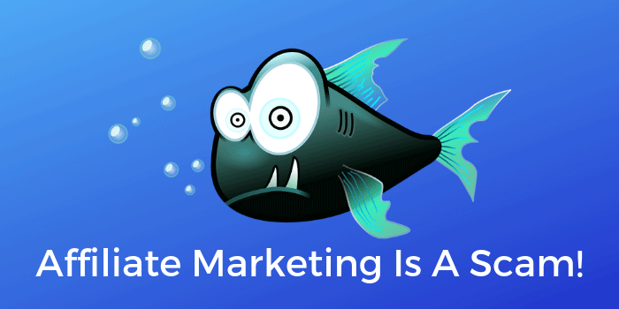 Affiliate Marketing Is A Scam!