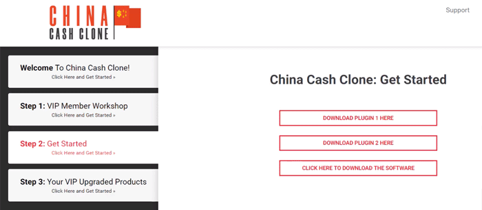 China Cash Clone Get Started