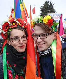 LGBT Ukraine Russian St Petersburg