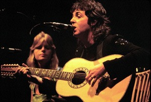 Paul and Linda McCartney Wings