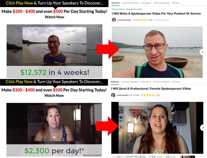 22 Minutes To Profits Fake Testimonials
