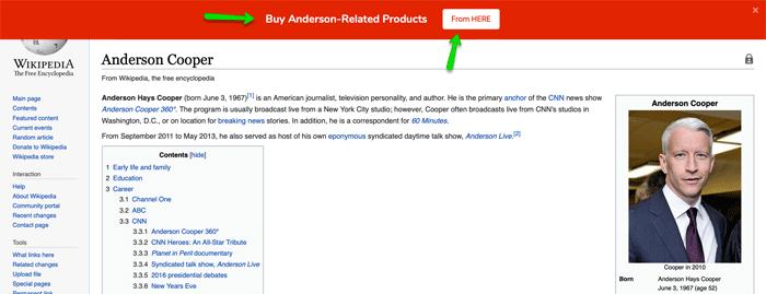 Anderson Cooper Wikipedia