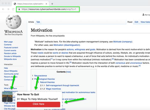 Income Bot Example Wikipedia