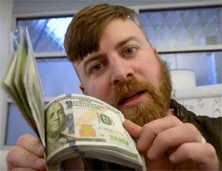John Crestani Dollar Bills
