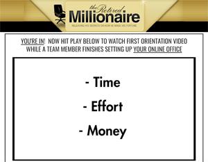 Time, Effort, Money
