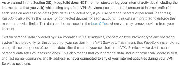 VPN Unlimited Privacy