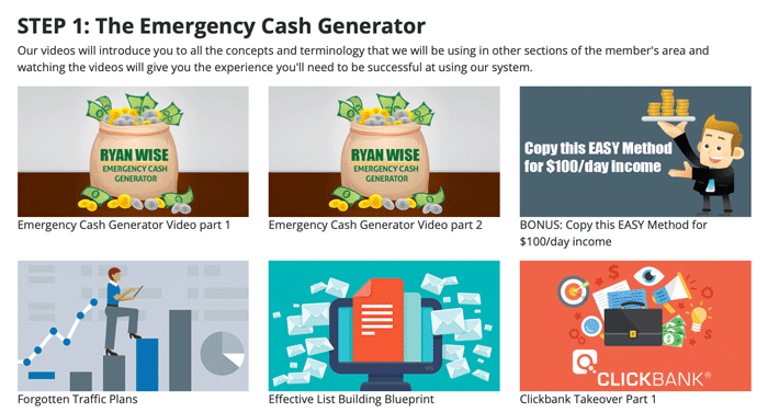 Emergency Cash Generator