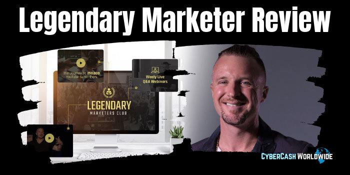 Legendary Marketer Internet Marketing Program Dimensions Inches