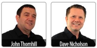 John Thornhill and Dave Nicholson