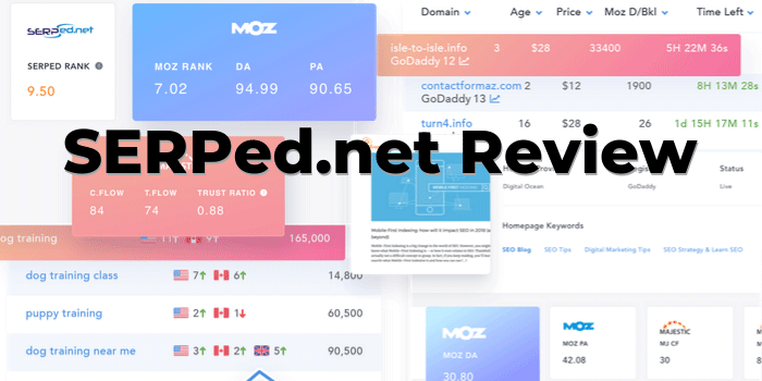 Best Online SEO Tools In One SERPed.net Review