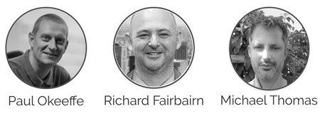 Paul Okeeffe Richard Fairbairn Michael Thomas