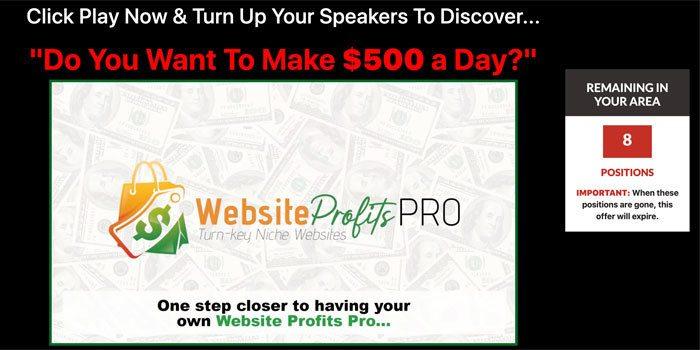 Website Profits Pro Review