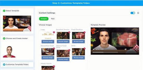 Customize video