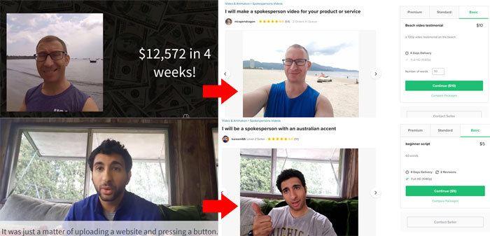 Website Profit Pro Fake Testimonials