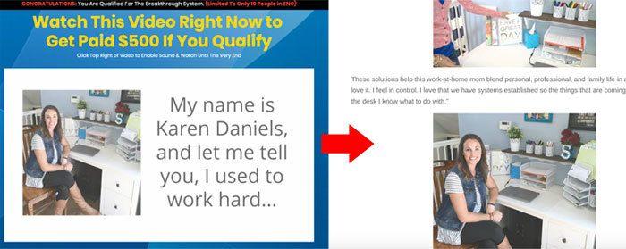 Kara Daniels Fake Seller