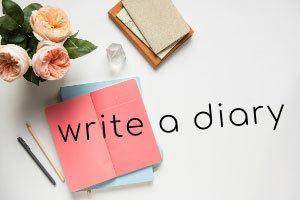Write a diary