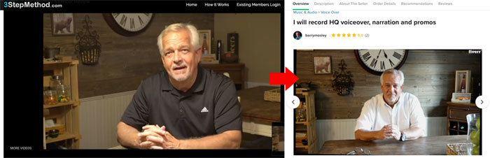 3 Step Method Fake Testimonials