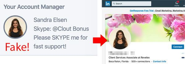Account Manager CloutBonus