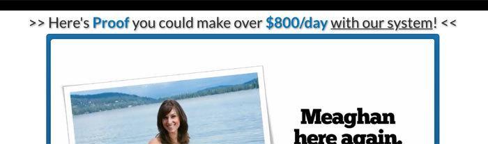 """800 Dollars Per Day"""