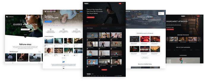 Customizable Websites Brandable OTT App Design