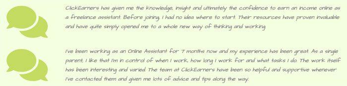 Click Earners Fake Testimonials