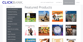 ClickBank Featured Products