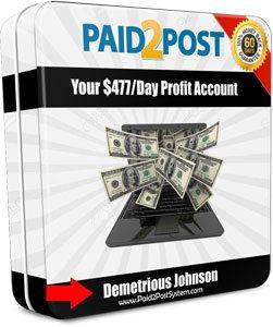 Demetrious Johnson Paid2Post