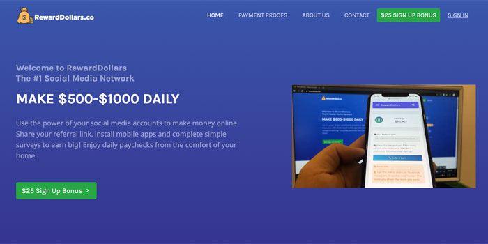 RewardDollars Scam Review