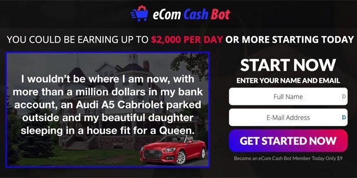 eCom Cash Bot Scam Review