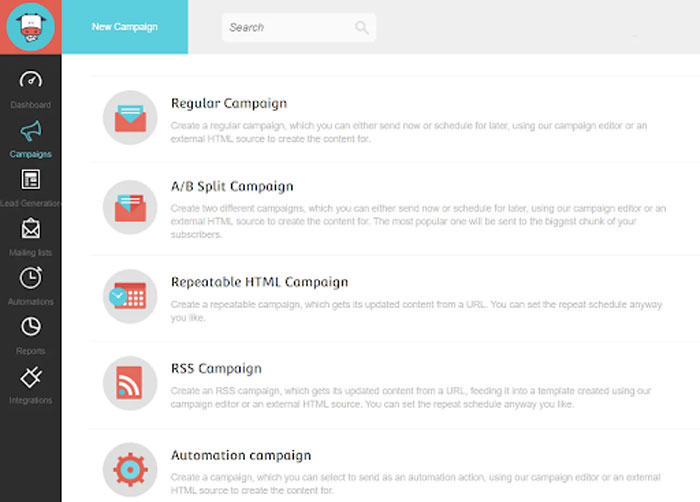 Email Campaign Creation