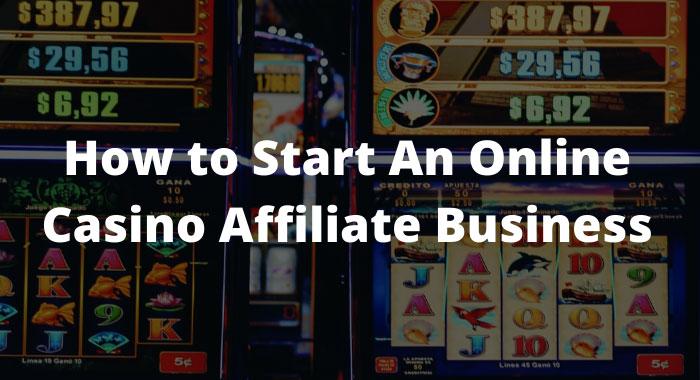 Gelddruckmaschine - Online Casino Affiliate