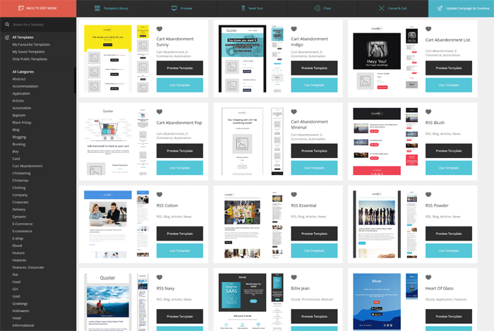 Moosend Email Templates
