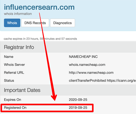 influencersearn.com Registration